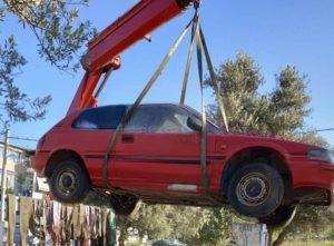 Ηράκλειο: Στην απομάκρυνση εγκαταλελειμμένων οχημάτων προχώρησε ο Δήμος