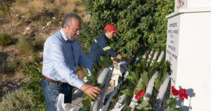 Καισαριανή: Τελέσθηκε επιμνημόσυνη δέηση στη μνήμη των πεσόντων που έχασαν τη ζωή τους κατά την διάρκεια της κατάσβεσης της μεγάλης πυρκαγιάς του Υμηττού στις 22/7/1998
