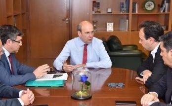 ΚΕΔΕ: Συνάντηση με τον Υπουργό Περιβάλλοντος και Ενέργειας Κωστής Χατζιδάκης