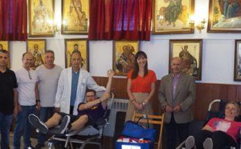 Κηφισιά: Με απόλυτη επιτυχία διεξήχθη η εθελοντική Αιμοδοσία στον Ιερό Ναό της Αγίας Τριάδος στη Νέα Κηφισιά