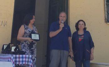 Μαρούσι : Τιμητική πλακέτα απένειμε στο Δήμαρχο Θ. Αμπατζόγλου ο Σύλλογος Γονέων και Κηδεμόνων των Μαθητών του Πρότυπου Σχολείου Αναβρύτων Γυμνασίου-Λυκείου