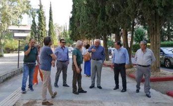 Μαρούσι : Παρουσία του Δημάρχου Αμαρουσίου πραγματοποιήθηκαν εργασίες καθαριότητας, συντήρησης πρασίνου στην περιοχή του Παραδείσου