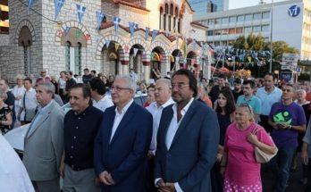 Μαρούσι: Ο Δήμαρχος παραβρέθηκε στο Μεθεόρτιο Εσπερινό και τη λιτανεία της Παναγίας των Βλαχερνών