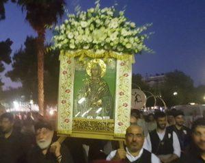 Μεταμόρφωση : Στο Μέγα Αρχιερατικό Εσπερινό στο ιστορικό παρεκκλήσιο Αγίας Παρασκευής παραβρέθηκε η  Λουκία Κεφαλογιάννη