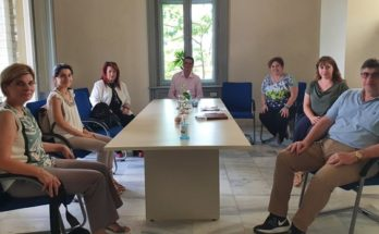Νέα Ιωνία: Συνάντηση της Δημάρχου Νέας Ιωνίας Δέσποινας Θωμαΐδου με τον Πρόεδρο του Πράσινου Ταμείου