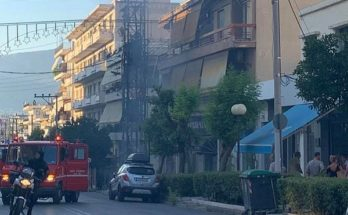 Νέα Ιωνία: Στον υποσταθμό της ΔΕΗ επί της Ελ. Βενιζέλου σημειώθηκαν τρεις απανωτές εκρήξεις