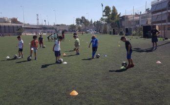 Ηράκλειο Αττική: Εγγραφές στις ακαδημίες ποδοσφαίρου του Δήμου για αγόρια και κορίτσια για την σεζόν 20/21