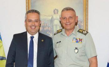 Παπάγου Χολαργός: Με τον Αρχηγό ΓΕΕΘΑ συναντήθηκε Δήμαρχος