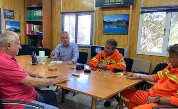 Παπάγου Χολαργός: Επίσκεψη του Δημάρχου στο Πυροφυλάκειο της Εθελοντικής Δασοπροστασίας -ΔΑ.ΠΑ.ΧΟ