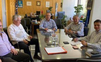 Παπάγου Χολαργός: Συνάντηση Η. Αποστολόπουλου και Β. Ζορμπάς και τον Αντιπεριφερειάρχη Μεταφορών και επικοινωνιών Β.Γιαννακόπουλο