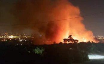 Πεντέλη : Σε απόλυτη ετοιμότητα ο Δήμος συνέδραμε στην κατάσβεση πυρκαγιάς χθες στο Γέρακα