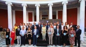 Περιφέρεια Αττικής : Στο Ζάππειο στη τελετή βράβευσης των ελληνικών συμμετοχών στην εκστρατεία για την Ευρωπαϊκή Εβδομάδα Κινητικότητας.