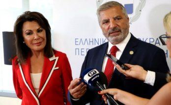 Περιφέρεια Αττικής : Σήμερα συναντήθηκε ο Περιφερειάρχης με την Πρόεδρο της Επιτροπής «Ελλάδα 2021», Γιάννα Αγγελοπούλου - Δασκαλάκη.