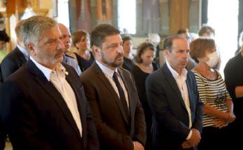 Περιφέρεια Αττικής : Στο μνημόσυνο που τελέστηκε στο Μάτι για τα 102 θύματα της καταστροφικής πυρκαγιάς στις 23 Ιουλίου 2018