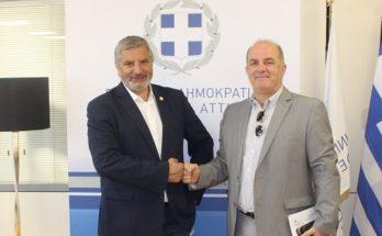 Περιφέρεια Αττικής : Αναπτυξιακά έργα και υποδομές στο επίκεντρο της συνάντησης με τον Δήμαρχο Διονύσου Γ. Καλαφατέλη
