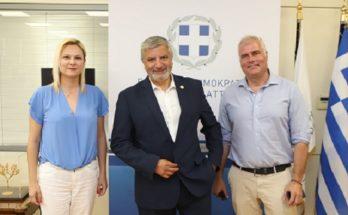 Περιφέρεια Αττικής: Αίγινα αμεσα ξεκινούν τα έργα προστασίας και αναβάθμισης των λιμανιών Αγ. Μαρίνα και Πέρδικα