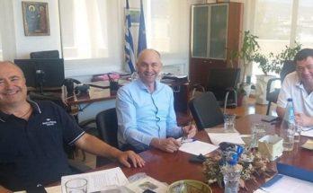 Λυκόβρυση Πεύκη: Νέα συνάντηση εργασίας των Δημάρχων Ηρακλείου, Λυκόβρυσης-Πεύκης και Μεταμόρφωσης