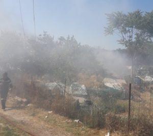 Σ.Π.Α.Π.: Άμεση επέμβαση σε πυρκαγιές που ξέσπασαν σε Χαλάνδρι και Πικέρμι.