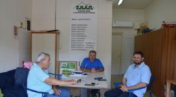 Σ.Π.Α.Π.: Επίσκεψη του Βουλευτού ΣΥΡΙΖΑ Βορείου Τομέα Αθηνών Κώστα Ζαχαριάδη στο Κέντρο Επιχειρήσεων του Σ.Π.Α.Π. και σε Πυροφυλάκια του Πεντελικού.