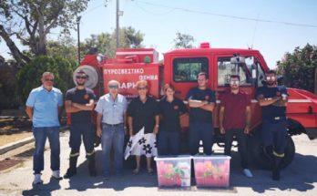 ΣΠΑΥ: Πρώτη φάση παράδοσης πυροσβεστικού εξοπλισμού προς όλες τις Ομάδες Δασοπροστασίας & Πυρόσβεσης
