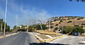 Ένα σύντομο ιστορικό για την πυρκαγιά : Η φωτιά ξέσπασε γύρω στις 9.30 το πρωί της Παρασκευής σε περιοχή με χαμηλή βλάστηση και χόρτα στο Χέρωμα της Βάρης (οδός Ανδρούτσου). Στην περιοχή άμεσα κατέφθασαν δυνάμεις της Πυροσβεστικής με 10 οχήματα με 25 πυροσβέστες και εθελοντικές ομάδες. Οι άνεμοι που έπνεαν στην περιοχή ευνοούν την εξάπλωση της φωτιάς και δυσκολεύουν το έργο της πυρόσβεσης. Ενώ παράλληλα γίνονταν συνεχής ρίψεις νερού από ένα ελικόπτερο. Για προληπτικούς κυρίως λόγους εκκενώθηκε το παιδικό χωριό SOS, καθώς και το γηροκομείο ΑΚΤΙΟΣ, το οποίο βρισκόταν πιο κοντά στο μέτωπο της πυρκαγιάς. Σύμφωνα με την Πυροσβεστική, δεν υπάρχει κίνδυνος για κατοικίες που βρίσκονται στην ευρύτερη περιοχή, ωστόσο, στο σημείο παραμένουν ισχυρές δυνάμεις για να αποφευχθεί ενδεχόμενο αναζωπύρωσης