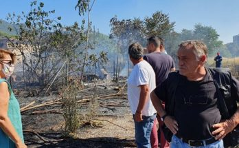 Χαλάνδρι: Έσβησε η πυρκαγιά στο Πεύκο Πολίτη – Άμεση η αντίδραση Πυροσβεστικής και Δήμου