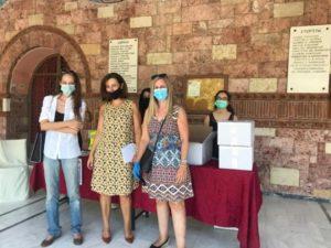 Ψυχικό Φιλοθέη : Σήμερα το πρωί ο Δήμος συγκέντρωσε φάρμακα για τους συνανθρώπους μας στη Βηρυτό