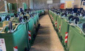 Καλλιθέα: 600 νέους κάδους για απορρίμματα παρέλαβε ο Δήμος