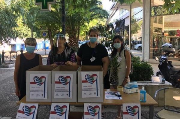 Κηφισιά: Σήμερα στο εμπορικό κέντρο στην Κολοκοτρώνη συγκεντρώνονται φάρμακα και υγειονομικό υλικό για τους πληγέντες της Βηρυτού