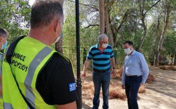 Μαρούσι : Εργαζόμαστε καθημερινά σε πολλά επίπεδα για μια καθαρή και φιλική και ασφαλές πόλη