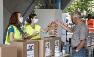 Μαρούσι : Με θέρμη αγκάλιασαν οι Μαρουσιώτες τη δράση συγκέντρωσης φαρμάκων και υγειονομικού υλικού, για τη στήριξη των πληγέντων της Βηρυτού.
