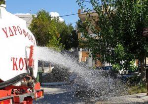 Μεταμόρφωση: Χθες έγιναν πλύσεις και απολυμάνσεις σε παιδικές χαρές και δημοσίους χώρους