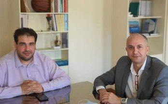 Μεταμόρφωση: Με τον Υφυπουργό Εσωτερικών αρμόδιο για την τοπική αυτοδιοίκηση συναντήθηκε ο Δήμαρχος