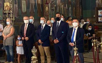 Παπάγου Χολαργός: Ο Δήμαρχος παραμονή της εορτής του Αγίου Αλεξάνδρου στον Ιερό Ναό Αγίας Σκέπης - Αγίου Αλεξάνδρου στον Παπάγο