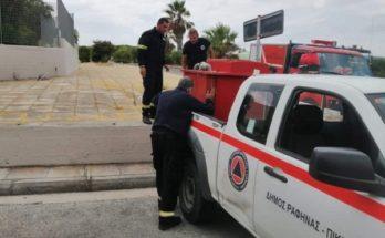 Ραφήνα Πικέρμι: Στο πλευρό των δοκιμαζομένων πολιτών της Εύβοιας ο Δήμος