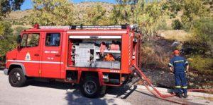 ΣΠΑΥ : Πυρκαγιά ξέσπασε λίγο μετά τις 4:00 μ.μ στην περιοχή της Αιξωνής Γλυφάδας