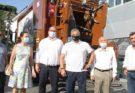 Χαλάνδρι: Παράδοση απορριμματοφόρου συλλογής βιοαποβλήτων και κάδων ανακύκλωσης στον Δήμο