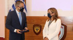 Ελλάδα: Η υφυπουργός Υγείας Ζωή Ράπτη επισκέφτηκε το 414 Στρατιωτικό Νοσοκομείο στην Πεντέλη