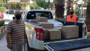 Διόνυσος: Παραδόθηκε από το Δήμο Διονύσου η ανθρωπιστική βοήθεια προς τους πληγέντες πολίτες του Λιβάνου