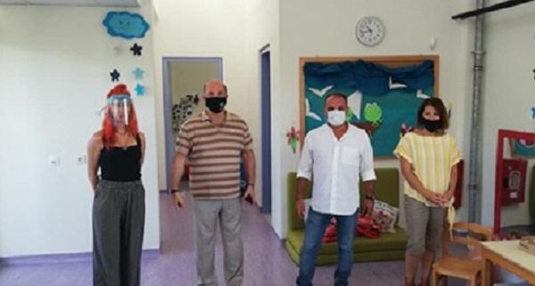 Διόνυσος: Ο Δήμαρχος επισκέφθηκε το Δημοτικό Βρεφονηπιακό και Παιδικό Σταθμό Κρυονερίου
