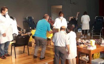 Διονύσου: Επιτυχημένη η Εθελοντική Αιμοδοσία στο Κρυονέρι