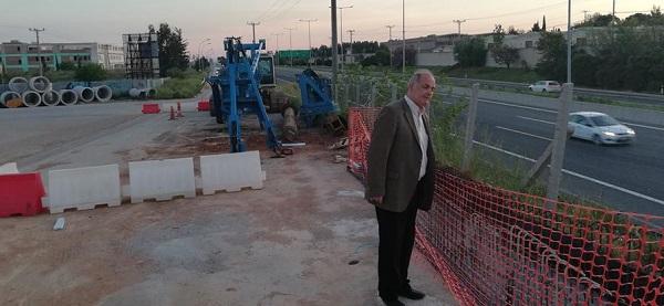 Διόνυσος: Ανοίγει το Σάββατο 19/9 ο Παράδρομος της Εθνικής Οδού Αθηνών-Λαμίας, μετά από παρέμβαση του Δημάρχου Γιάννη Καλαφατέλη