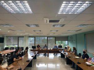 Φιλοθέη Ψυχικό : Συνάντηση του Δημάρχου Δημήτρη Γαλάνη με τους εκπροσώπους των μαθητών του υπό κατάληψη Γενικού Λυκείου ΓΕΛ Νέου Ψυχικού