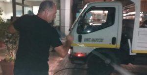 Μαρούσι :Εκτεταμένοι καθαρισμοί και απολυμάνσεις στο Δήμο Αμαρουσίου