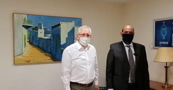 Μαρούσι: Συνάντηση του Δήμαρχου Αμαρουσίου με τον Βουλευτή ΝΔ Αχαΐας Ιάσονα Φωτήλα