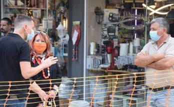 Νέα Ιωνία: Αυτοψία της Δημάρχου Δέσποινας Θωμαΐδου στα αντιπλημμυρικά έργα