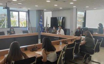 Ηράκλειο Αττικής: Ο Δήμαρχος είχε γόνιμο διάλογο με τους μαθητές του 1ου Γυμνασίου