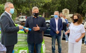Παπάγου Χολαργού: Παραδόθηκε σήμερα στον Δήμο ένα απορριμματοφόρο σύγχρονης τεχνολογίας για τη διαλογή καφέ κάδων και βιοαποβλήτων