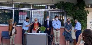 Παπάγου Χολαργός: Ο Δήμαρχος στους αγιασμούς των σχολείων της πόλης