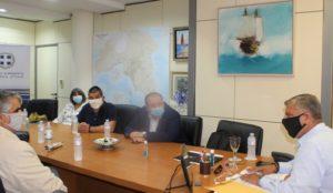Περιφέρεια Αττικής: Συνάντηση του Περιφερειάρχη με την αντιπροσωπεία της Εθνικής Ομοσπονδίας και του Πανελλήνιου Συνδέσμου Τυφλών